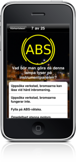 Swedish drivers license theory - Now on the iPhone