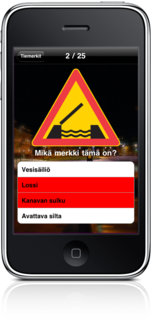 Finnish Road Signs released on the iPhone!